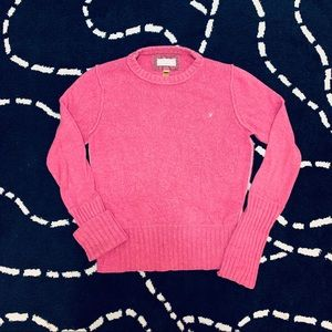 American Eagle Outfitters Pink Knit Sweater